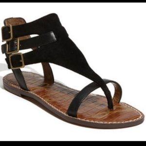 Sam Edelman Grenna suede leather sandals